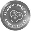 We are recommended on Carehome.co.uk